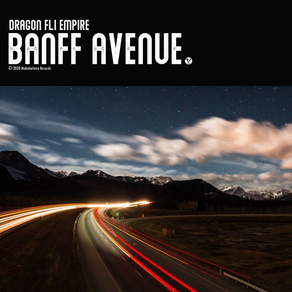 Dragon Fli Empire - Banff Avenue album cover