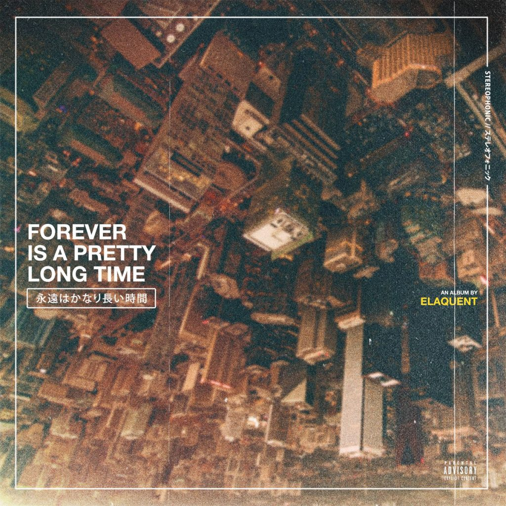 Elaquent - Forever is a Pretty Long Time album cover