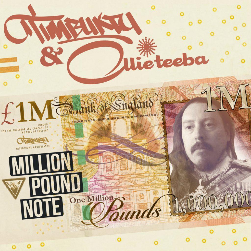 Timbuktu Ollie Teeba - Million Pound Note album cover