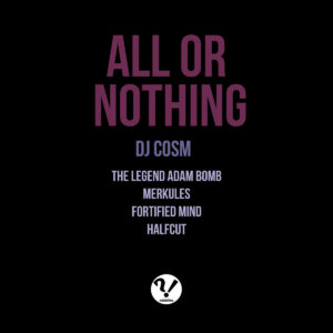 DJ Cosm - All or Nothing album cover