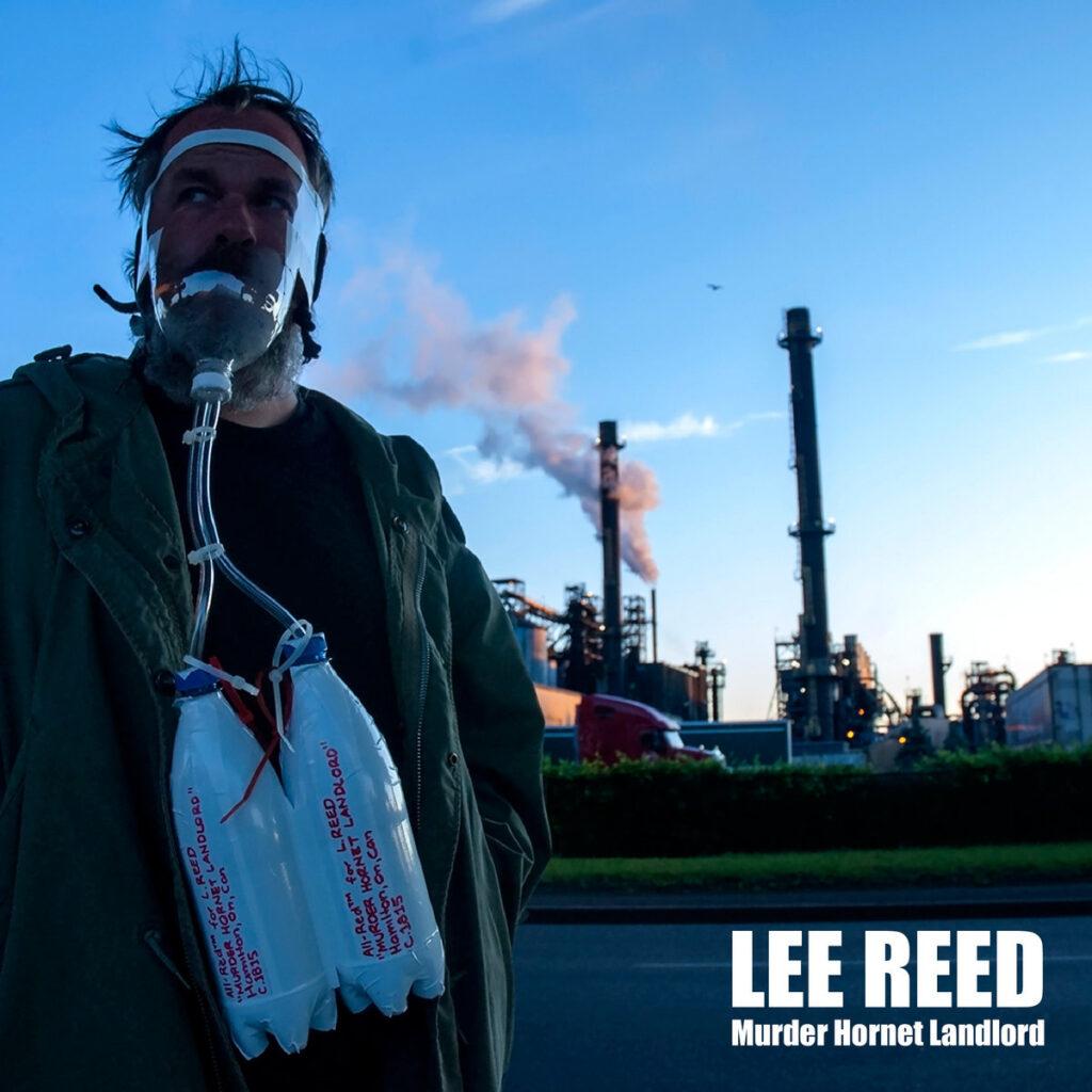 Lee Reed Murder Hornet Landlord cover