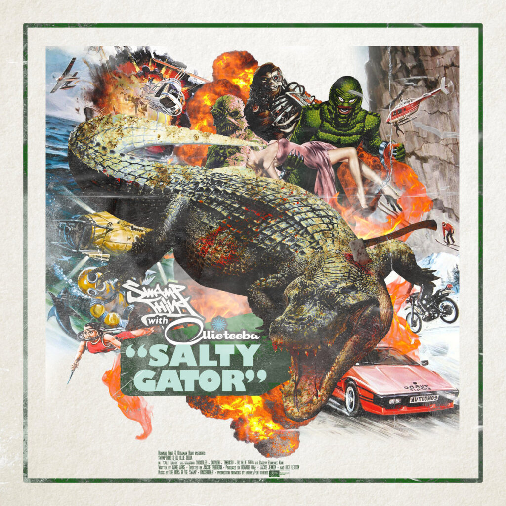 Swamp Thing - Salty Gator cover
