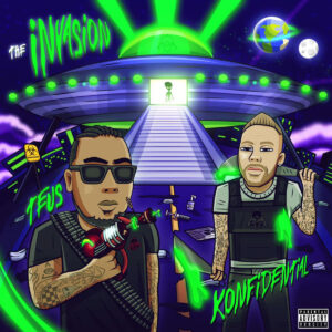 Konfidential & Teus - The Invasion album cover
