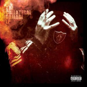 Evil Ebenezer - The Collateral Damage LP cover