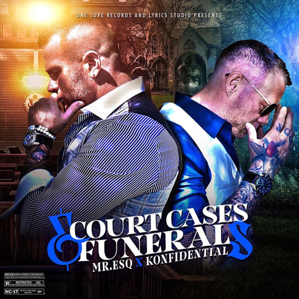 Mr. ESQ & Konfidential - Court Cases & Funerals cover